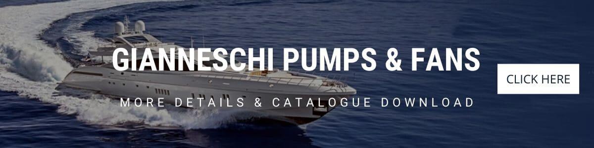 Gineico Marine - Gianneschi Pumps & Fans Ad Banner