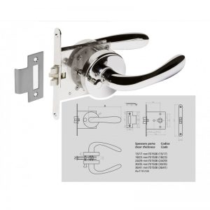anti rattle mortise door set_gineico marine