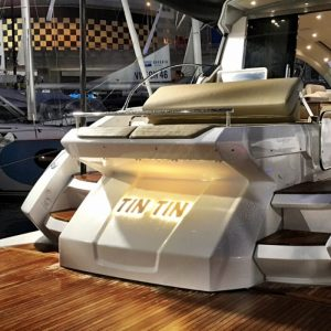 LED Boat Name - Tin Tin - Gineico Marine