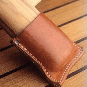 Gineico Marine - leather socks_deck protection