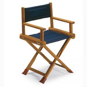 Gineico Marine_cherso deck chair-directors-_teak