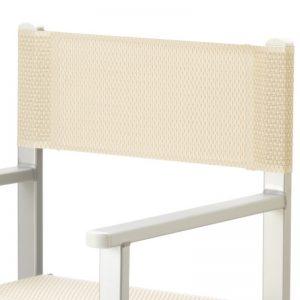 Regista_deck chair_white mesh_gineico marine