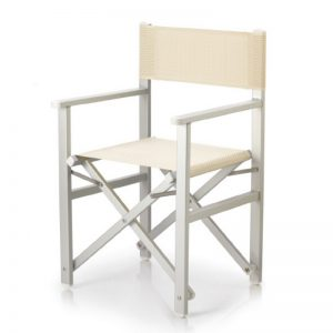 Regista_deck chair_white mesh_gineico marine