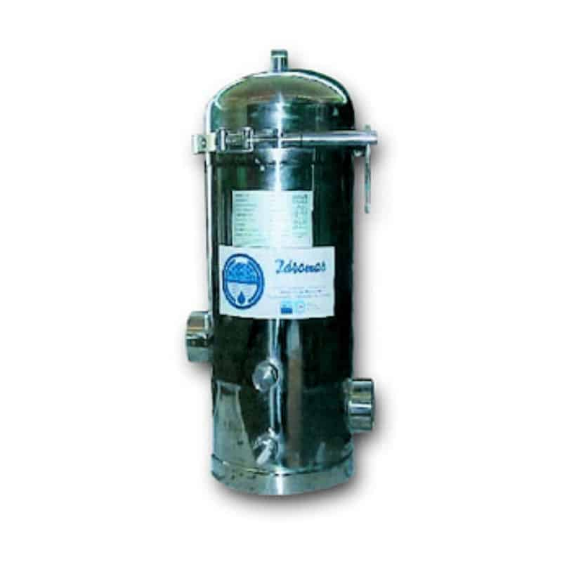 active stainless steel carbon filter_idromar_gineico marine