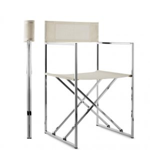 stainless steel_35 Deck Chair_gineico marine_compact