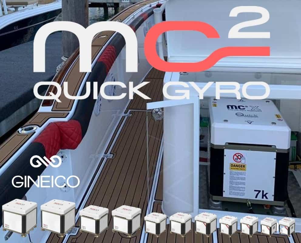 Quick Gyro Boat Stabilizers Gineico Marine
