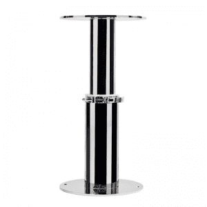 Manual Pedestal Inox, Gas Assisted Marine Grade Stainless Steel