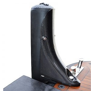 Magnifico carbon fibre tender fender -swim platform single- Gineico Marine