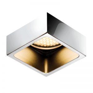 Zeno polished chrome 25 x 25 Downlight - BCM -Gineico Marine