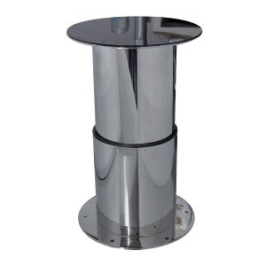 electric table base t277 - besenzoni - gineico marine