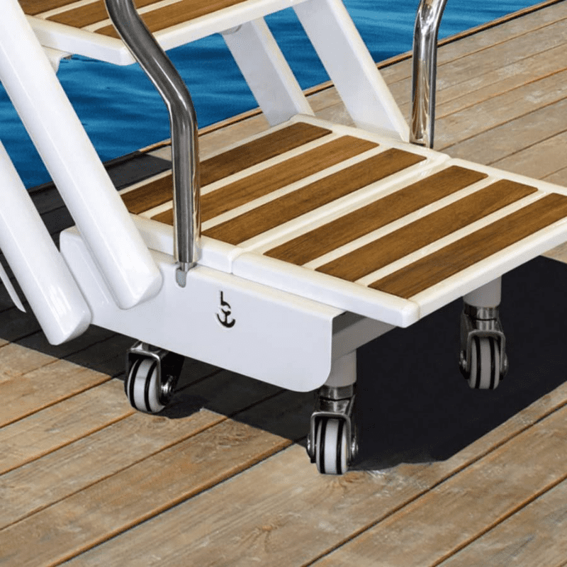 Bessenzoni Manual Boarding Ladder on wheels