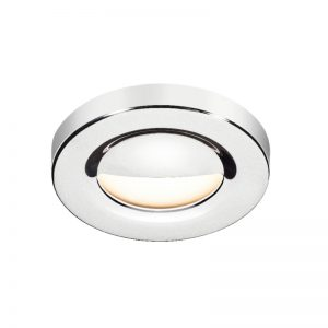California 60 downlight in polished stainless steel - BCM - Gineico Marine