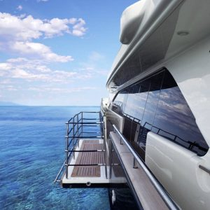gineico marine -besenzoni-yacht-bulwark-terrace