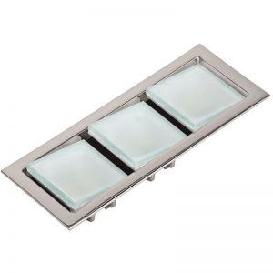 keplero-iii ceiling light adjustable glass diffusers- foresti and suardi - gineico marine