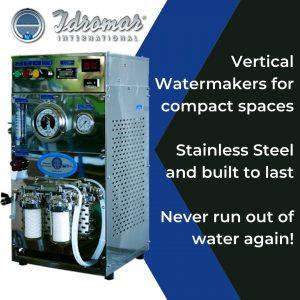 idromar vertical watermakers - gineico marine