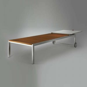 Gineico Marine - Nautilus - Furniture - Sun Bed- NauBSIDE220