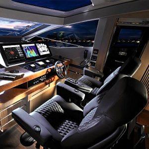 Gineico Marine - Besenzoni-Automatic Helm Seat-President Commander-BES-P218