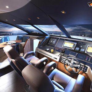 Gineico Marine-Besenzoni-Automatic helm seat-BES P316