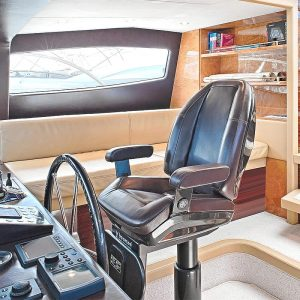 Gineico Marine-Besenzoni-Automatic helm seat-CARBON STEALTH-BES P252