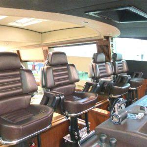 Gineico Marine-Besenzoni-Automatic helm seat-Sirio-BES P222