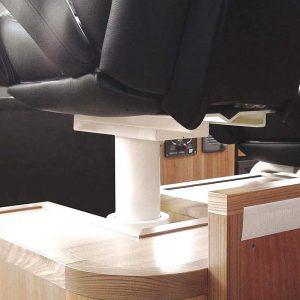 Gineico Marine-Besenzoni- Helm Seat Pedestal-BES S184