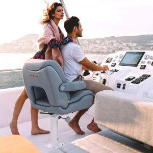 Gineico Marine-Besenzoni-Manual Helm Seat-P 233 Vanity Sport