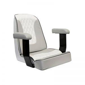Gineico Marine-Besenzoni-Manual Helm Seat-Pearl-BES P258