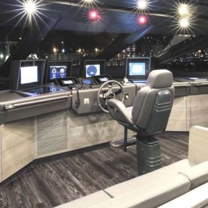 Gineico Marine-Besenzoni-Manual Helm Seat-President F-BES P216