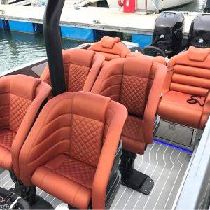 Gineico Marine-Besenzoni-Performance Boat Helm Seat- BES P 397